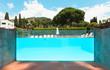 pool of a villa - 68362124