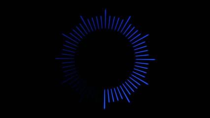 Loading Circle, Clock Illustration - Loop