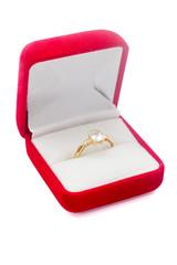 Wedding ring isolated