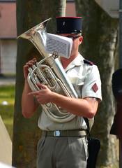 musique militaire, tuba