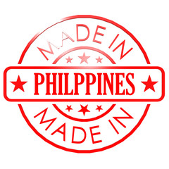 Made in Philippines red seal