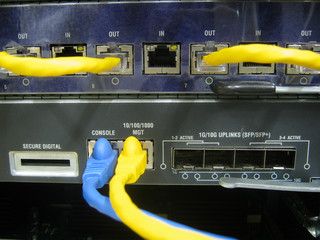 Console cable communications switch equipment
