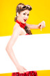 Pin-up girl in american style - 68366588