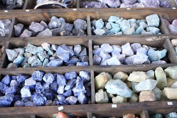 collezione di minerali