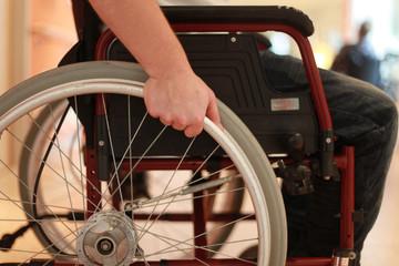 im Rollstuhl