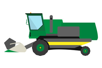 Obsolete green harvester