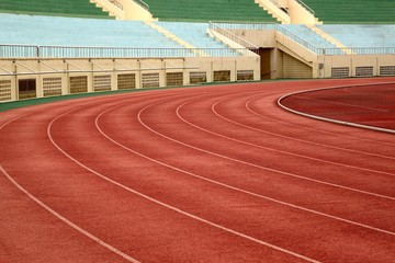 Athletic Track and Field Markings