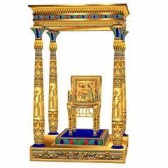 trône egypcien