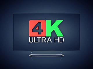 4K Ultra HD screen tv ,Ultra High Definition display