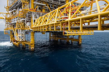 Offshore oil and gas industry
