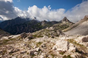 Mountain ridge near Tre Cime