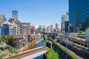Train tracks at Ochanomizu