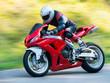 Leinwandbild Motiv Motorbike racing