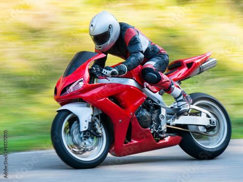 obraz lub plakat Motocykl wyścigowy