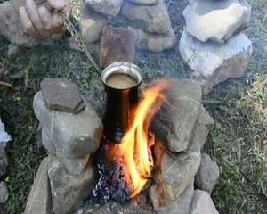 közde türk kahvesi hazırlama
