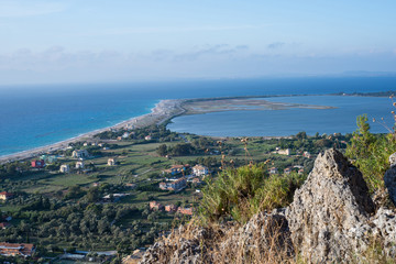 Lefkada cityview  from top of hills