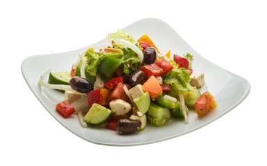 Delicous greek salad