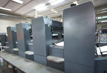 Offset machine - Press printing