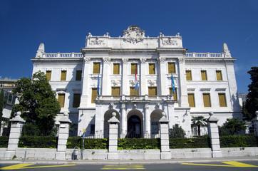 Governor's Palace in Rijeka,Croatia