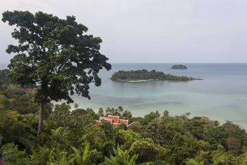 Aussichtspunkt am Lonely Beach auf Koh Chang