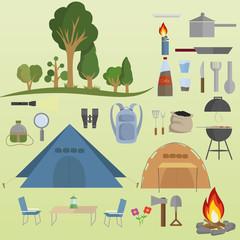 Utensils camping