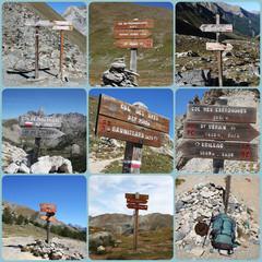 Panneaux de Cols de Montagne