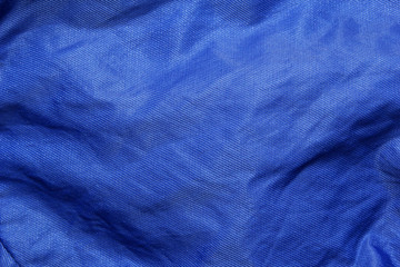 blue satin cloth texture