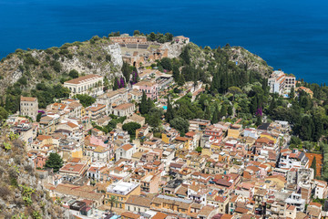 View of Taormina, Sicily