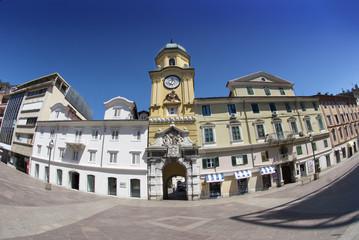 Rijeka Baroque City Tower in Croatia