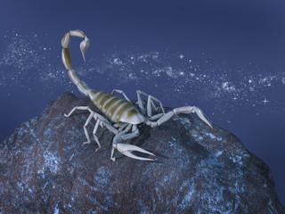 Representación simbólica del signo zodiacal de Escorpio