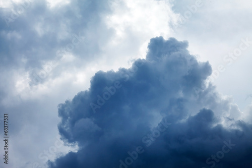 Dramatic sky with stormy clouds - 68377531