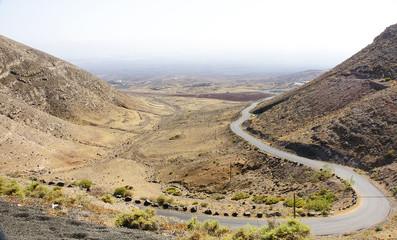 Panorámica desde el Mirador de Femes, Lanzarote, Islas Canarias