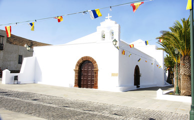 Iglesia de Femes, Lanzarote, Islas Canarias