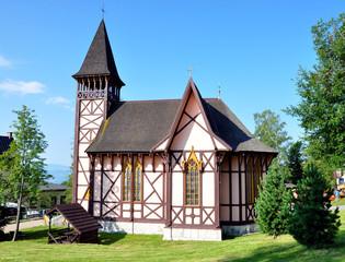 Old wooden church, Stary Smokovec, Slovakia, Europe