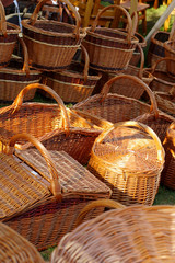 wicker baskets handmade 2