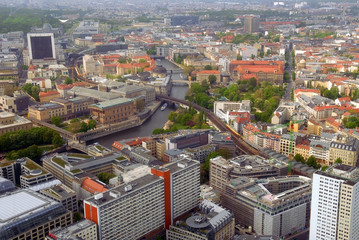 Berlin panoramic view