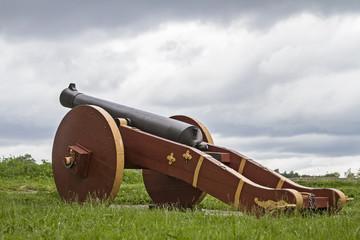 Kanone in Fredrikstad