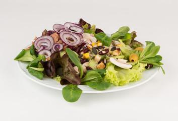 Gemischter Feldsalat