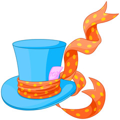 Top hat of Mad Hatter