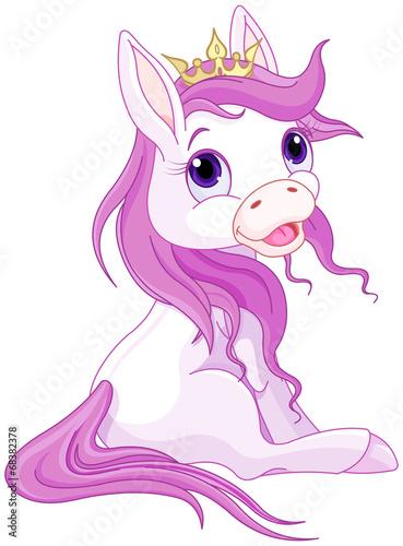 Poster Pony Princess horses