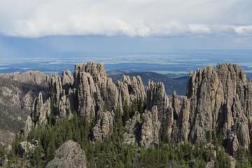 granite formations in South Dakota
