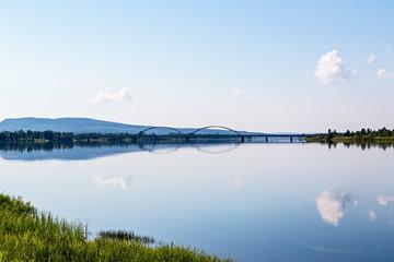 beautiful lake view in Finland