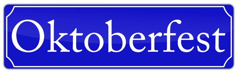 Oktoberfest Schild  #140804-svg04