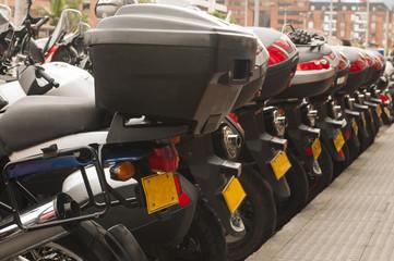 Inicio de viaje de aventura en motocicletas