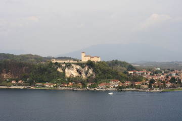 Angera Maggiore Lake