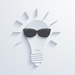 Vector modern idea background.
