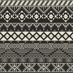 Vector retro pattern. Aztec background.