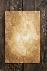 old paper, brown wood texture
