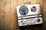 Fototapety reel to reel tape player and recorder