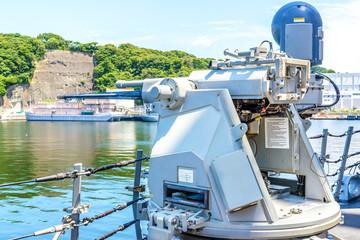 M242 Bushmaster on USS Fitzgerald
